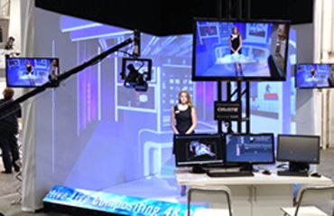 Virtual Projection Broadcast Studio
